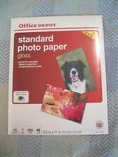 Office Depot Photo Gloss Inkjet 8.5x11
