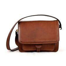 Borsa Donna a Tracolla Pelle Conciata al Vegetale / Vegetable Tanned Leather Bag