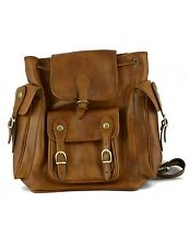 Zaino Pelle Conciata al Vegetale / Vegetable Tanned Leather Backpack