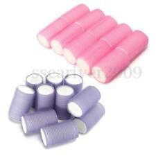 HOT Hair Rollers Soft Perfect Sleeping In Curling Accessors Pretty 10 Pack