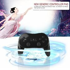 Classic Wired Game Controller Remote Pro Gamepad Shock For Nintendo Wii BM