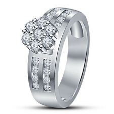 925 Sterling Silver Round Cut White CZ Wonderful Women Wedding Engagement Ring