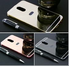 Luxury Aluminum Metal Bumper + Acrylic Mirror Back Cover Case For LG STYLUS 3