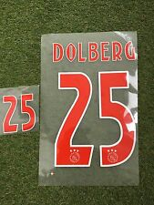 Flocage football AJAX AMSTERDAM 2017/2018 nameset