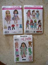 DOLL CLOTHES PATTERNS 18