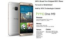 HTC One M9 4G LTE 5 Inch 20MP Cam 3GB RAM Octa-Core Unlocked Smartphone - 32GB