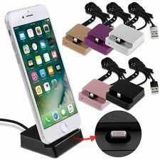 Desktop Charging Dock Sync Data Station Cradle Charger For iPhone 5 6 6S 7 &Plus
