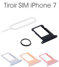 Tiroir Support Carte SIM Tray Holder pour Apple iPhone 7 +Joint Étanchéité +Clé