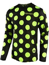 Maillot Motocross Enfant Troy Lee Designs 2018 GP Air Polka Noir-Jaune