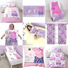 "Peppa Pig "" FELICE "" Design bambine ragazze camera da letto Accessori - Choose 1"