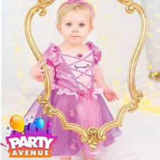 Disney Baby Rapunzel Toddler Princess Fairy Tale Fancy Dress Up Costume Outfit