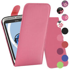 Premium PU Leather Vertical FLIP Pouch Holster Case for HTC WildFire G8