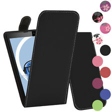 Premium PU Leather Vertical FLIP Pouch Holster Case for Nokia Lumia 820