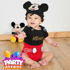 Disney Baby Mickey Mouse Bodysuit Vest Toddler Babies Costume Outfit