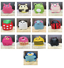 f8e2ac3a0f CHILDRENS KIDS PRE SCHOOL NURSERY ANIMAL HOLIDAY RUCKSACK BACKPACK BAG UK