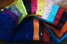 RALPH LAUREN MENs BOYs CLASSIC LOOSE FIT SHORT SLEEVE POLO SHIRT XS S M L XL XXL