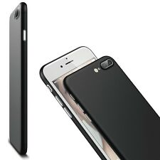 Case Cover for iPhone 6 7 Plus  Thin PC Bumper  Shockproof Flip Ultra Hard BLACK