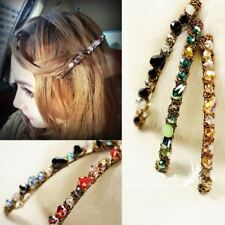 Beautiful Crystal Rhinestone Hair clips Banana Clip claw clamps Barrette grip UK