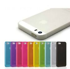 Case Cover for iPhone 4 SE 5S 5 6 7 Plus Ultra Thin Slim Hard 0.3mm Cover Skin