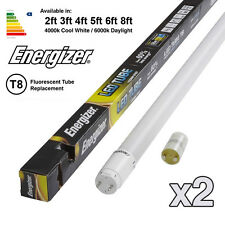2x Energizer HighTech T8 LED TUBO - FLUORESCENTE RICAMBIO 2ft 3ft 4ft 5FT