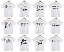 Hen Party Bachelorette T Shirt BUY 4 GET BRIDE'S FREE Bride To Be Tribe T-Shirt