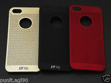 Loopeo Hard Back Shell Case Cover Net Mesh Dotted For Apple Iphone 5 5S 5G SE