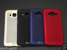 Loopeo Hard Back Case Cover Net Mesh Dotted For Samsung Galaxy J2 2016 / J2 Pro