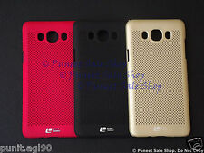 Loopeo Hard Back Shell Case Cover Net Mesh Dotted Samsung Galaxy J7 2016 / On8