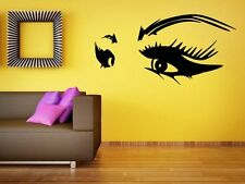 Girls Seductive Eyes Sexy Vinyl Wall Sticker / Car / Laptop / Fridge Decal Decor