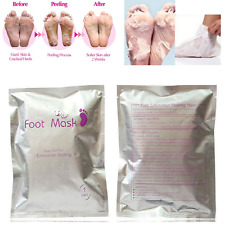 Ex11foliating Peel Renewal Foot Mask Baby Soft Feet Remove Dead Skin Cuticles UK