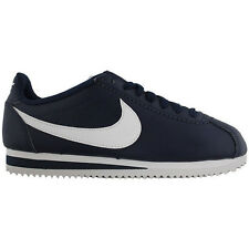 Womens Nike Classic Cortez Blue/White Leather Trainers Shoes 807471-400 Size:6.5