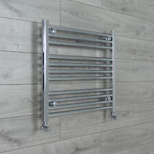650mm Wide 600mm High Straight Chrome Heated Towel Rail Radiator Bathroom Rad