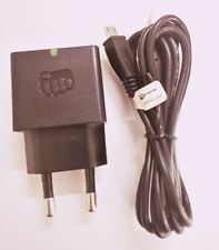 Micromax Canvas Amaze/ Amaze 2/ Amaze 4G - Charger Adapter with Cable - Black