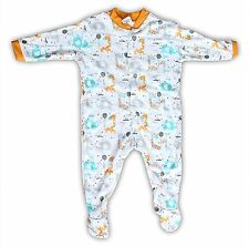Mini Berry Long Sleeve Cotton Born Baby Sleep Suit Romper Girls & Boys Set of 3