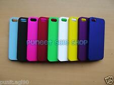 Premium Hard Back Shell Cover Case Pouch Guard For Apple IPhone 5 5S / 5G