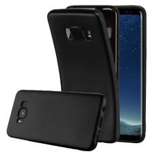 Ultra Thin Luxury Look Soft Shock Bumper Cover For Samsung S8 S8 Plus + Screen P