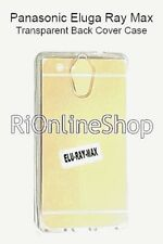 COMBO FOR PANASONIC ELUGA RAY MAX Imported Transparent Soft Silicon Back Cover
