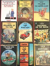RARE 2nd Reprint Edition Methuen Tintin Books BUY INDIVIDUALLY Herge EO fleece