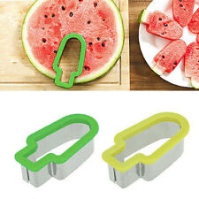 New Watermelon Slicer #B Corer Stainless Steel Fruit Peeler Melon Cutter Kitchen