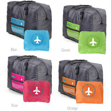 Travel Foldable Luggage Clothes Storage Hand Carry-On Duffle Bag Nylon