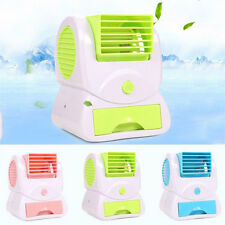 Electric Mini USB Air Conditioner Silent Portable Fan Cooling Tool Home Office