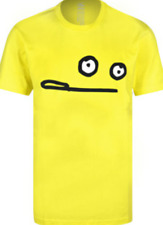 CLEPTOMANICX  Smile Zitrone T-Shirt  yellow Herren  NEU