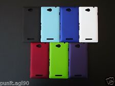 Premium Imported Hard Back Shell Cover Case Matte For Sony Xperia C C2305 PL