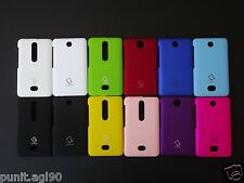 Premium Imported Hard Back Shell Cover Case Matte For Nokia Asha 501