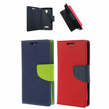 Wallet Style Flip Cover for Micromax Canvas Spark Q380 Mobiles