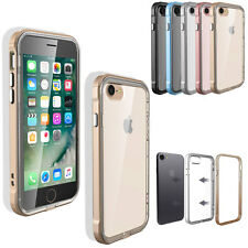 Hybrid Shockproof Clear Rubber Bumper Hard Case Cover For iPhone 7 6s