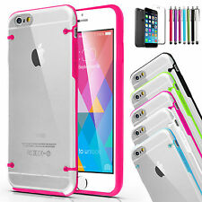 For iPhone 6 6s Plus Case Shockproof Ultra Thin Clear TPU Hard Back Ca
