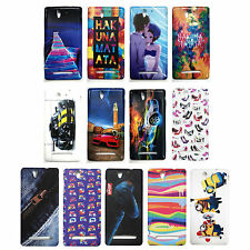 Stylish Look Printed Rubber back case cover For Sony Xperia C3