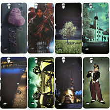 Printed Back Case Cover for Sony Xperia C4 , Hard Back Cover For Sony C4
