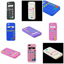 For Apple iPhone 5S / 5 Calculator Style Design Silicone Soft Flexible